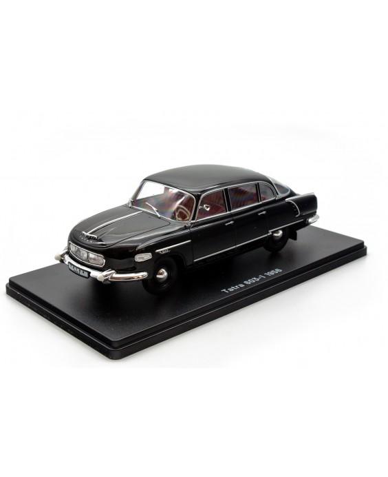Časopis s modelem Tatra 603