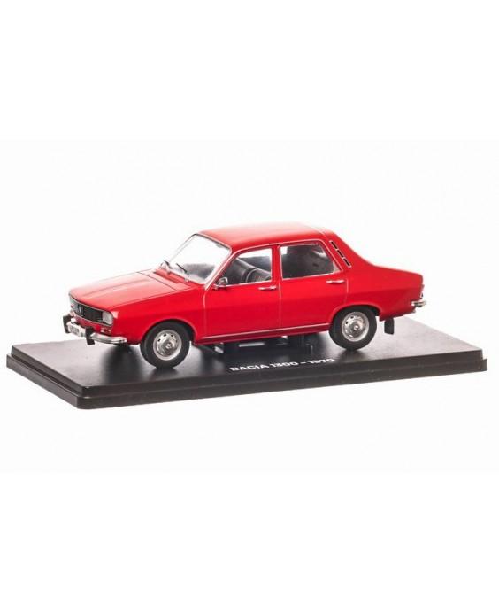Časopis s modelem Dacia 1300