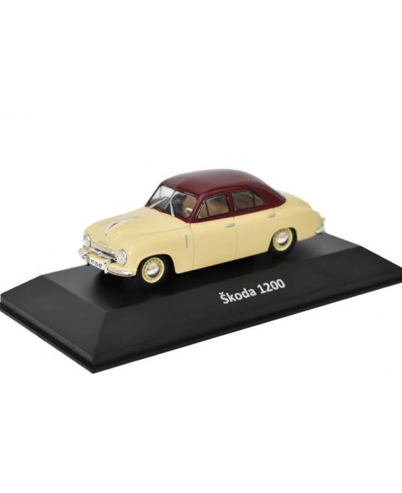 Časopis s modelem Škoda 1200