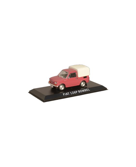 Časopis s modelem Fiat 126p...
